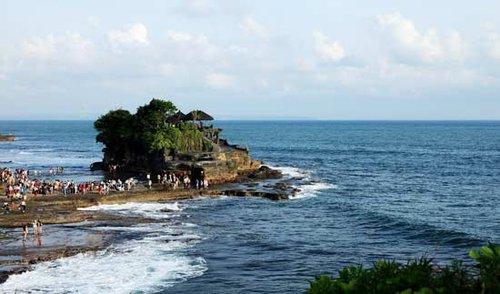 """巴厘岛/时间正好是巴厘岛日落时分,去""""海神庙""""看日落是最佳的选择,..."""