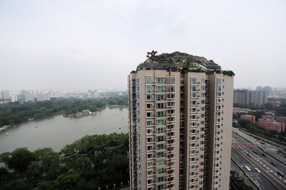 组图 近距离揭秘北京楼顶 超级别墅