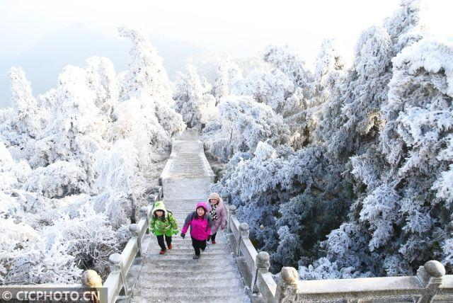 雪后初霁南岳美