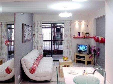 3万装修两室一厅小户型婚房