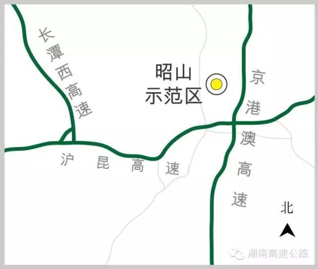 湖南13处全域旅游示范区 高速公路地图奉上