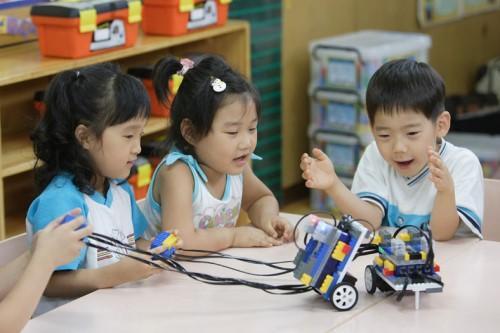 儿童机器人制作方法