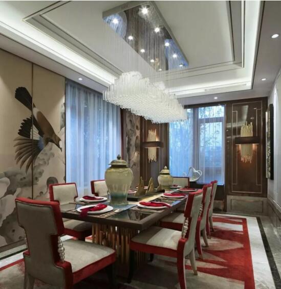 长沙带挑空客厅的新中式别墅装修实在是无可价格上海惠南别墅图片