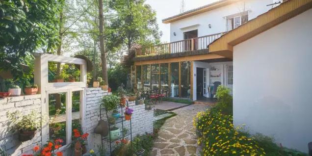 梦中的乌托邦 中学老师用1年打造出绝美小院
