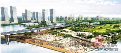 复合型生态城市中心 活力岳麓新都会彰显国际范