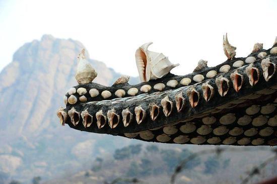 百万枚贝壳造出一座贝壳楼博物馆 光筹划用了10年