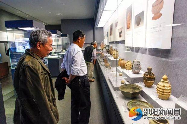 20天闭馆整改后邵阳市博物馆重新对大众开放