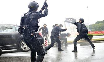 实战练兵强素质 长沙公安机关举行综合汇报演练