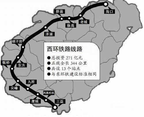 海南西环铁路计划12月20日开通运营,西线开通将会为海南带来什么?