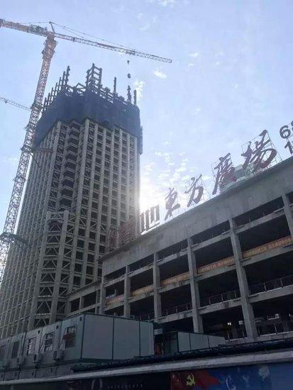 金色9月,火热建设|置地东方广场建设进度播报!