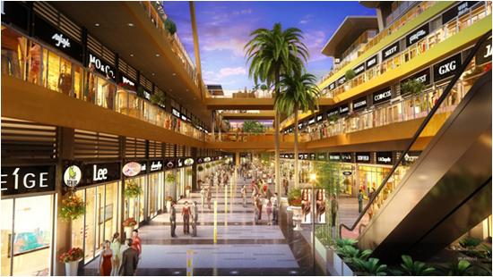 新城吾悦广场创新规划,拓宽海口商业航线图片
