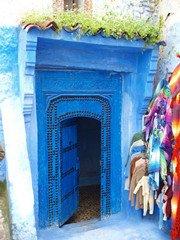 走进摩洛哥神秘蓝色小镇