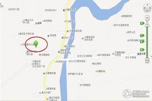 项目位于万宁市兴隆镇生活区的中心位置,地理位置优越,周边生活配套图片