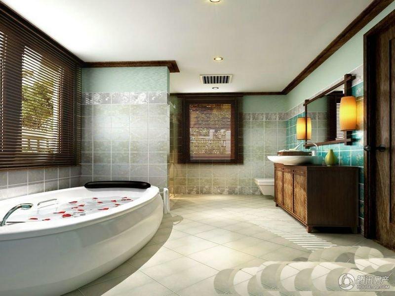 三亚的山|浴室也清新
