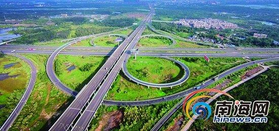 《海南省公路条例》的实施为公路建设护航.海南日报记者李幸璜摄