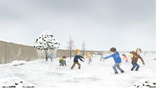 广物·滨江海岸将打响年度第一场雪仗