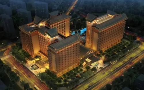 田德·海泉湾成功签约港中旅维景国际大酒店(组图)