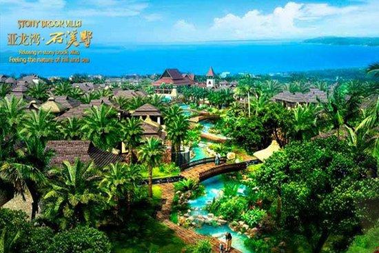 v图片图片,到海边距离1公里,距三亚市区20公里,离三亚凤凰大全约30分钟机场别墅酒店房内图片