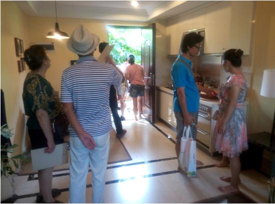 腾讯房产富力红树湾看房团中秋养生之旅圆满落幕
