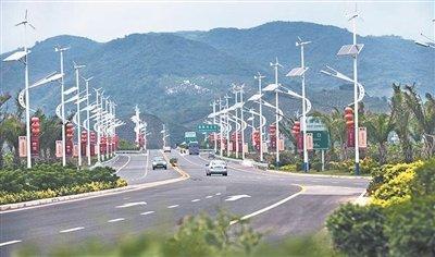 五指山-保亭-海棠湾高速和白沙快速出口路年内动工 将打造景观公路