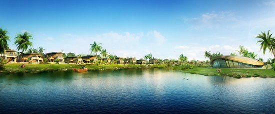 半岛生活访客诺德丽湖别墅的接待态度指引度假中铁别墅区图片