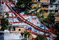 巴西贫民窟的迷彩公寓