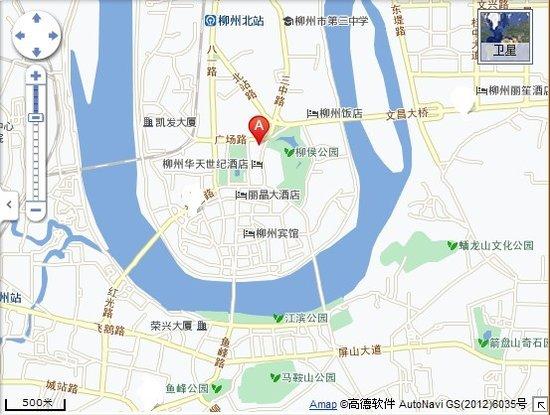柳州博物馆 地图