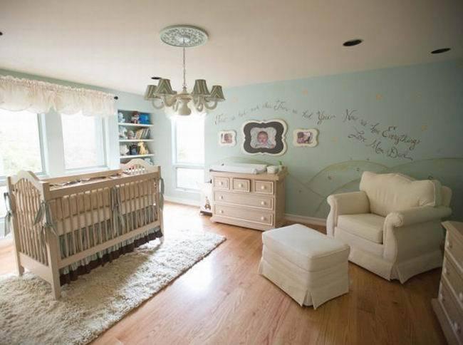 绿松石色调的婴儿房大集合