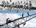 玩命的职业 勇敢的建筑工人