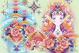 民族风情打造梦幻插画壁纸 美轮美奂童话风