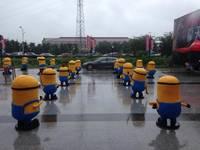 拉米加欢乐城携30只小黄人登陆盱眙