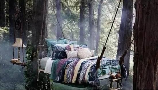 创意吊床设计,睡觉注意翻身啊