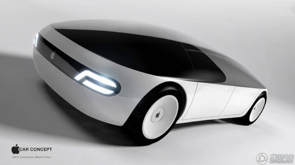 还在用苹果手机 来看看高大上的概念苹果汽车