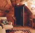 好想和你住在这样一间小木屋里一切都显得刚刚好