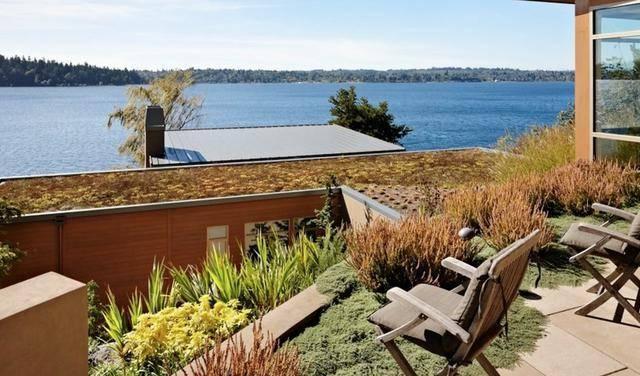 自建房别墅 看人家的屋顶花园美不美