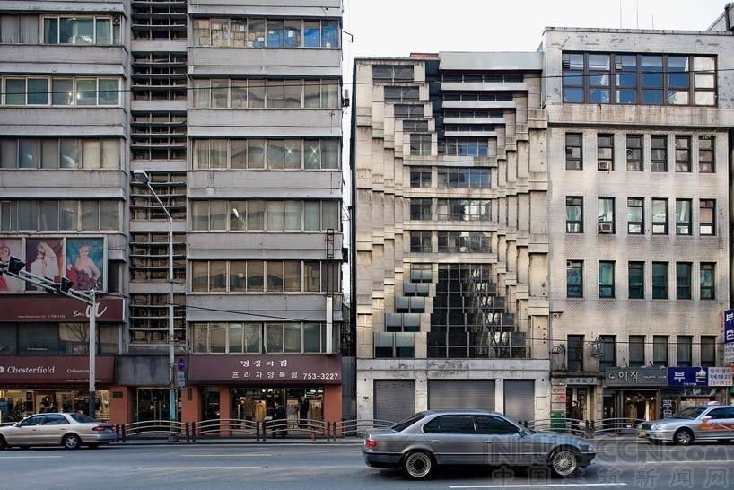 脱离地心引力的超现实建筑场景