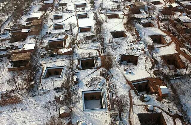 中国最神秘村庄 在地下居住4千多年