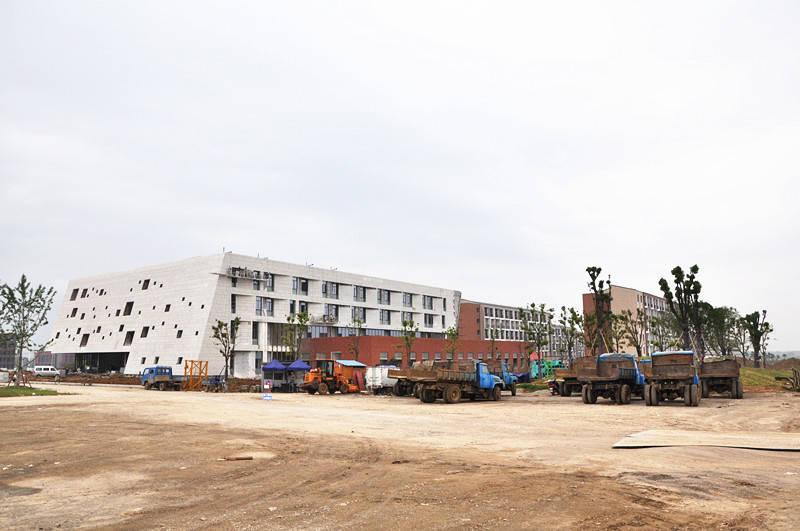 安徽理工大学新校区,又称安徽理工大学山南校区,位于淮南市山南