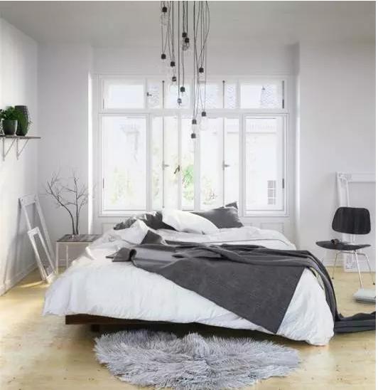 简约风格,但是你不知道,其实北欧风格也挺适合小户型房子装修