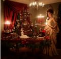 美国艺术家造姜饼圣诞城堡 好吃又好看