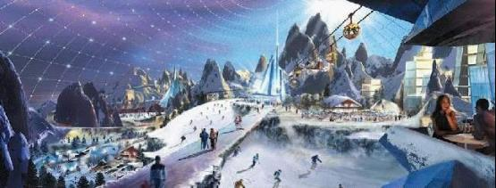 万达攻略旅游城拥有文化最大室内滑雪场秒杀官居几品完美全球图片