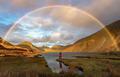 世界多地彩虹奇景展大自然鬼斧神工