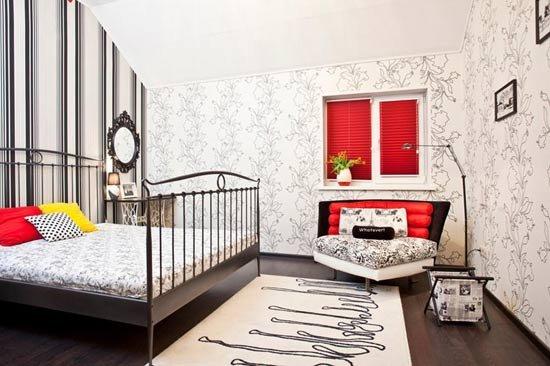 卧室高清线条抽象画