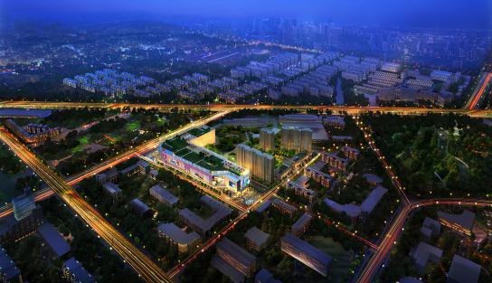 北京城建胜茂广场 家住广场旁不输学区房