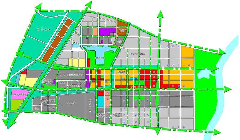 高端现代制造业基地规划图