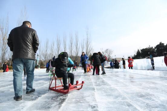 阳光城·君山墅首届冰雪嘉年华 全北京人都值得去一次