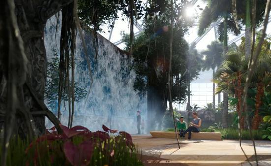 北京园博会植物馆造型曝光 演绎不可思议的植物智慧