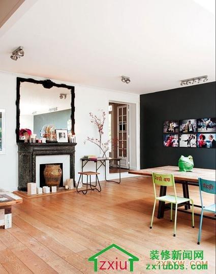 文艺青年爱死了的公寓设计 过道畸零空间美