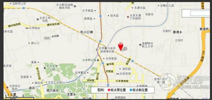 北京城建・世华泊郡交通图