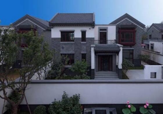 中式仿古豪华别墅外观如何设计?_房产_腾讯网